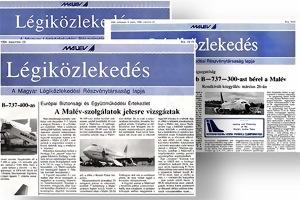 Légiközlekedés archiv