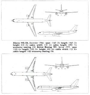 HS134-B757 (Flight International 1979)